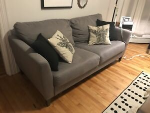 Grey couch - can deliver!