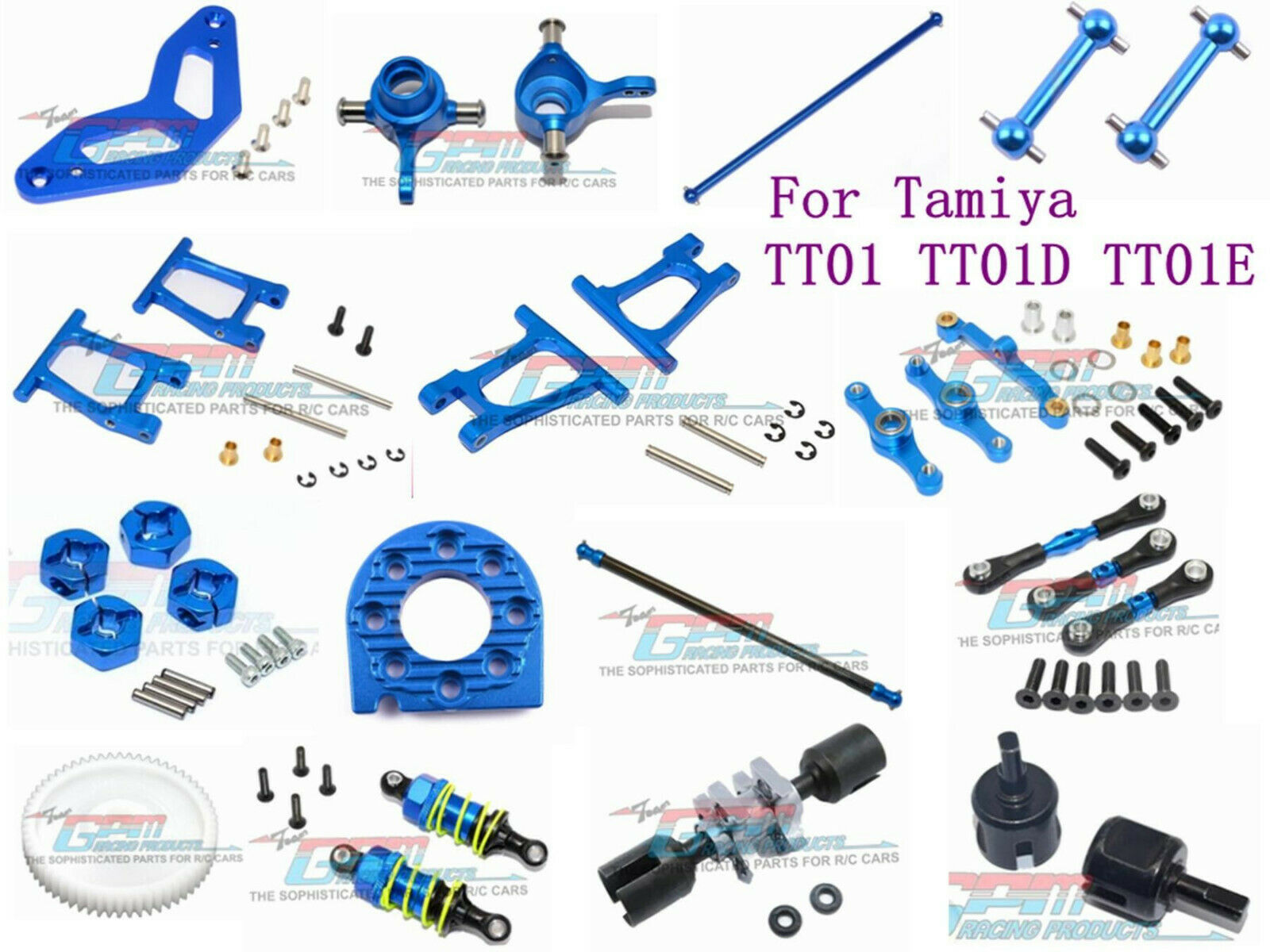 aluminum parts accessories for 1 10 tamiya