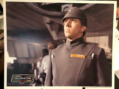 Official Pix 8x10 Licensed Photo -Captain Khurgee / Christopher Muncke Star Wars