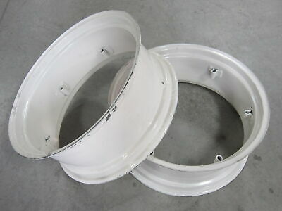 2 Wheel Rims 12x28 For Massey Ferguson Mf 135 150 230 235 240 245 35 50 65 F-40