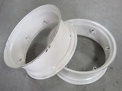 2 Wheel Rims 12x28 For Massey Ferguson Mf 135 150 230 235 240 245 35 50 65 F-40
