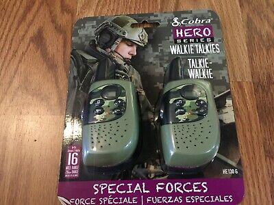 Cobra Hero Series Walkie Talkies HE130 Special Forces Green