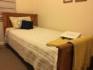 Two king single timber beds and mattresses Hurstville Hurstville Area Preview