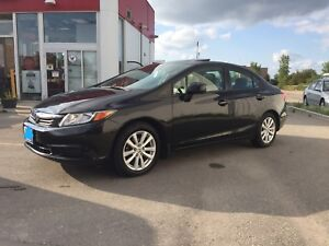 Safetied 2012 Honda Civic EX-L! Leathr/Sunrf/Nav/Cmd strt! -MINT