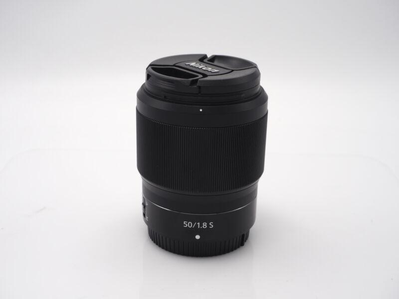 Used Nikon Nikkor Z 50mm f1.8 S #8449