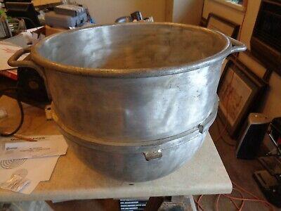 Original Hobart Tin Steel 40 Quart Bowl For Hobart Mixer Vmlh