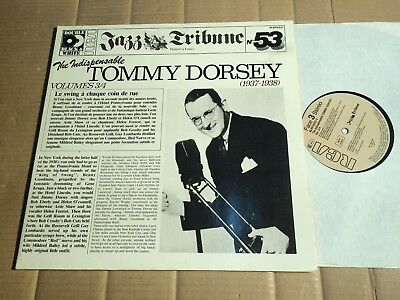 TOMMY DORSEY - THE INDISPENSABLE - VOLUME 3/4 - 2 LP - GERMANY 1985