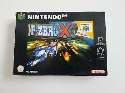 F-ZERO X - Nintendo 64 N64 Game - [UKV PAL CIB] Boxed with manual