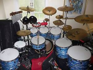 PDP CX Pacific by DW drumkit drums 9 piece stunner for sale! Bundall Gold Coast City Preview