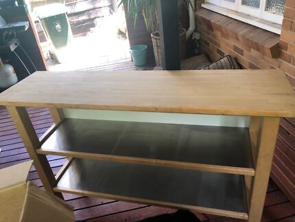 Kitchen side table display unit