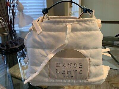Danse Lente Phoebe Bis color-block textured-leather shoulder bag Burgundy