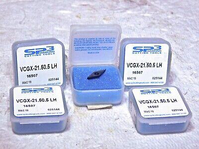 Sp3 Diamond Tools Carbide Diabide Turning Insert Vcgx-21.50 Grade-mac 18 Qty-5