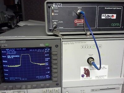 Hp 70950a Optical Spectrum Analyzer 600nm To 1700nm Working Fcpc Connector