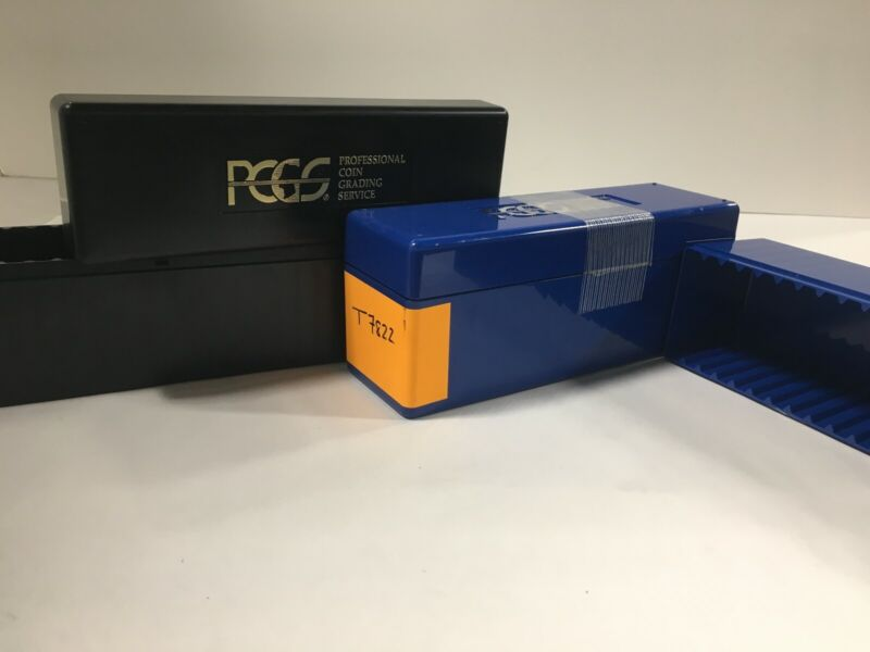 PCGS Professional Coin Grading Service Official Gently Used Numismatic Coin Box