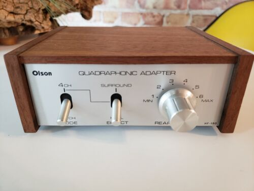 Olson quadrophonic adapter