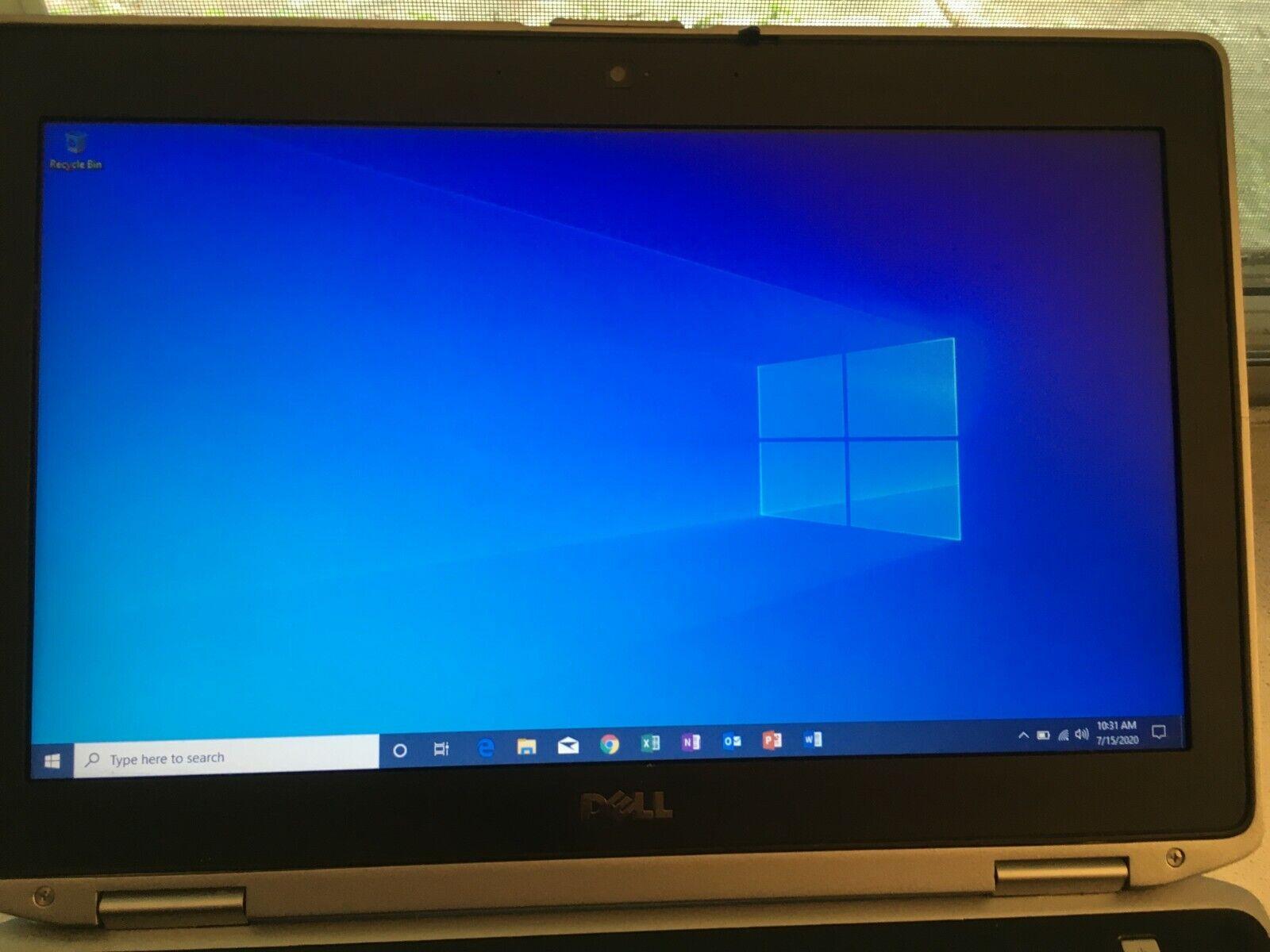 Dell Latitude E6420 Windows 10 Pro, 8GB Ram, 240GB SSD, MS Office