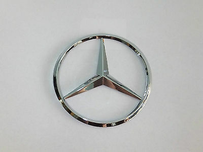 New for Mercedes Benz Chrome Star Trunk Emblem Badge 90mm - Free US Shipping X