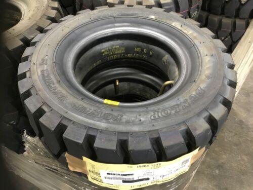 16x6-8 Dunlop Power Lifter Pneumatic Industrial Tire 10 Ply #T195