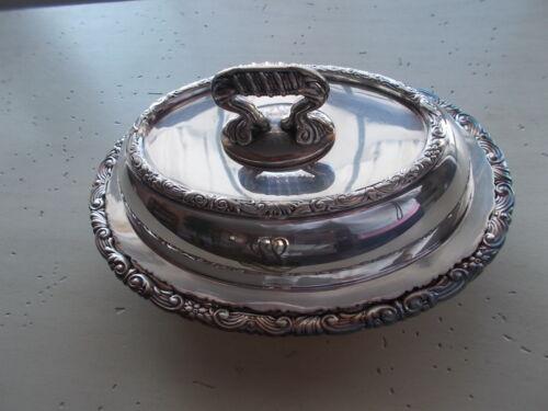 Antique 1905 Vintage Gorham Manufacturing Silverplate Serving Dish Set G M Co