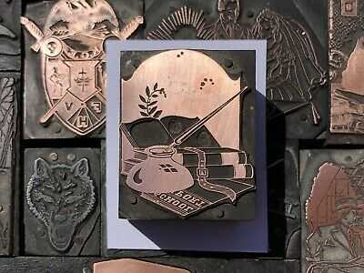 Antique Vtg Fountain Pen W Ink Well Letterpress Print Type Cut Ornament Block