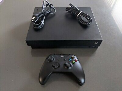 Xbox one x with Controller *FREE UPS SHIPPING W/ SIGNATURE*