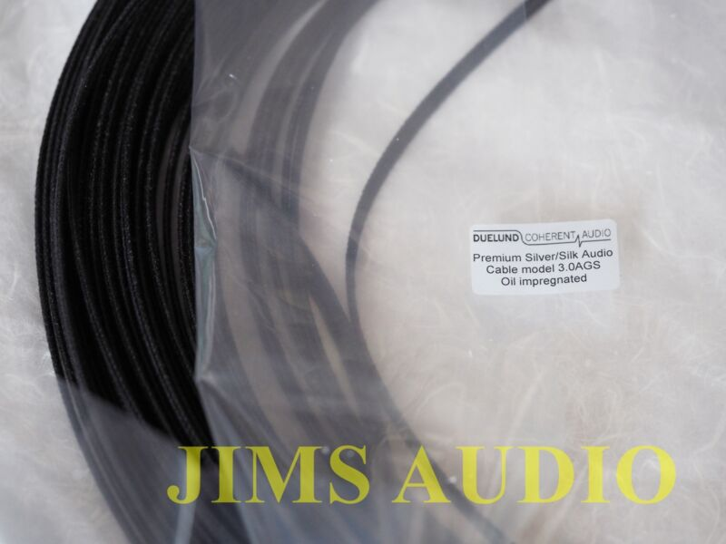 Duelund 3.0 version bulk silver wire sold by the meter no compromise spk cable !