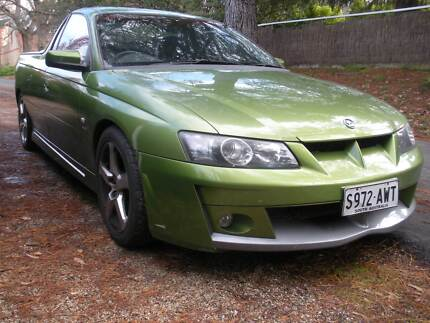 VY HSV Maloo 5/2003 158K auto, all original Hot house green
