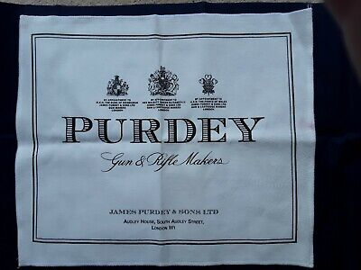 James Purdey & Sons White Selvyt Cloth