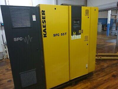 Kaeser Sfc 55t Air Compressor 75 Hp