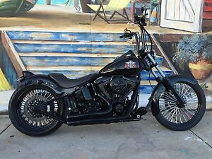 Harley Davidson Softail Full Custom 200 Rear End O'Connor Fremantle Area Preview