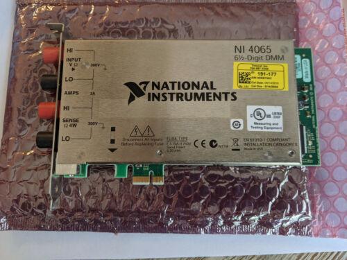 National Instruments NI 4065 PCI 4065 6 1/2-Digit PCIe Digital Multimeter