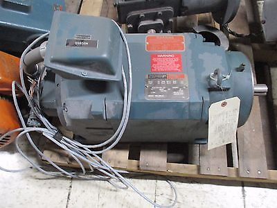 Reliance Electric Dual Speed Ac Motor 01klt74132-wy 10hp 17803560rpm 230v Used