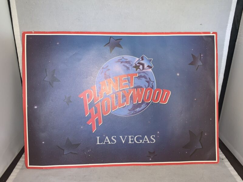 Planet Hollywood Cafe Original Menu  LAS VEGAS