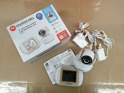 Motorola MBP30A Video Baby Monitor 3 Inch Display