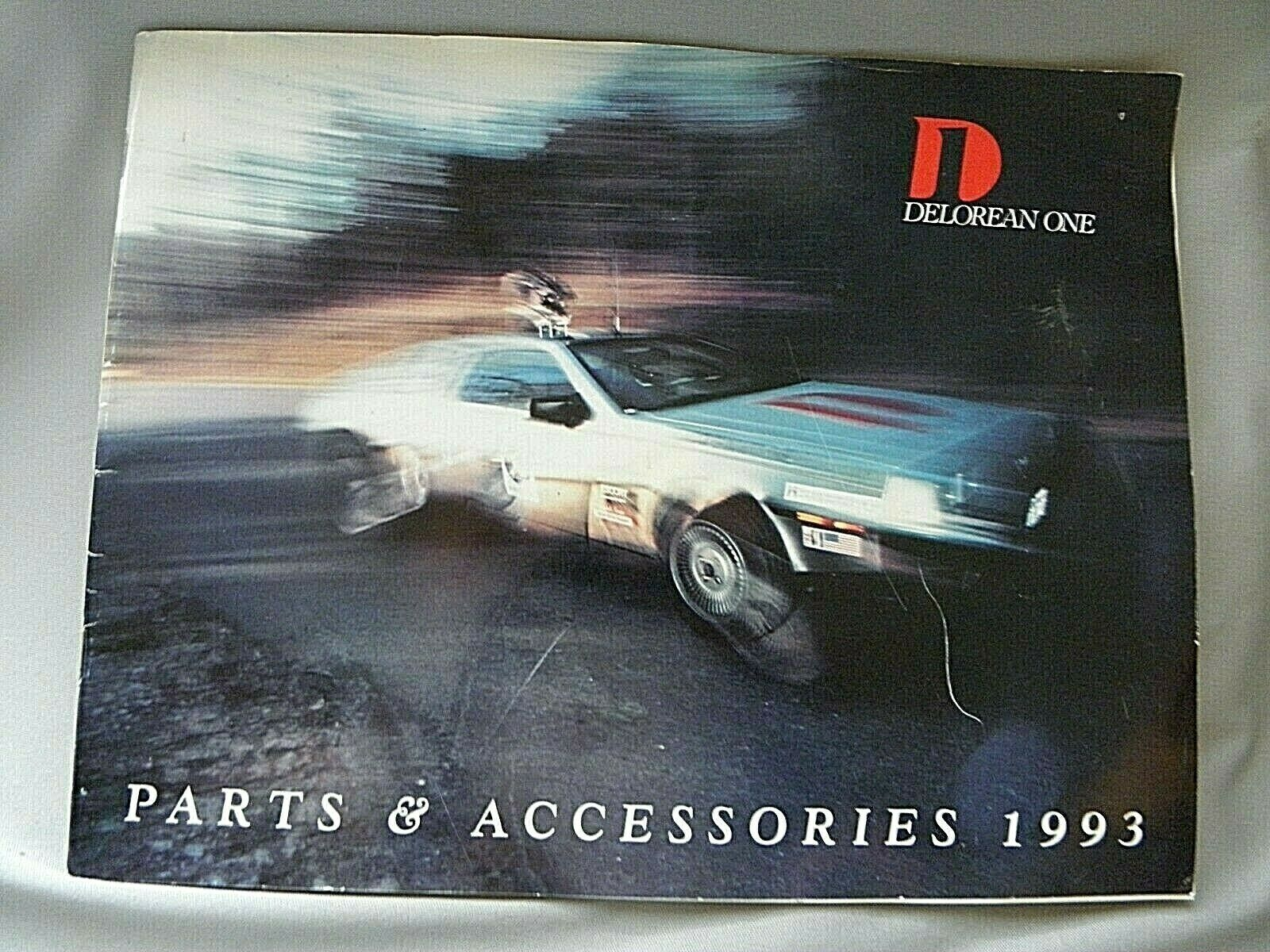Car Parts - ~~~1993 DELOREAN CAR..Parts and Accessories Catalog ~~~