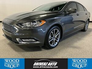 2017 Ford Fusion SE CLEAN CARFAX, ONE OWNER, APPLE CAR PLAY .