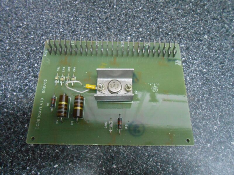 GE GENERAL ELECTRIC IC3600AVLA1D VOLTAGE LIMITER PCB CIRCUIT BOARD