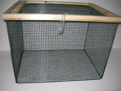 "2 ft Cage Keep Fish Alive BEST Floating Live Fish Well Basket with 1//2/"" wire"