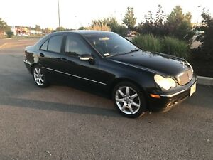 Mercedes 4Matic All Wheel Drive Sedan
