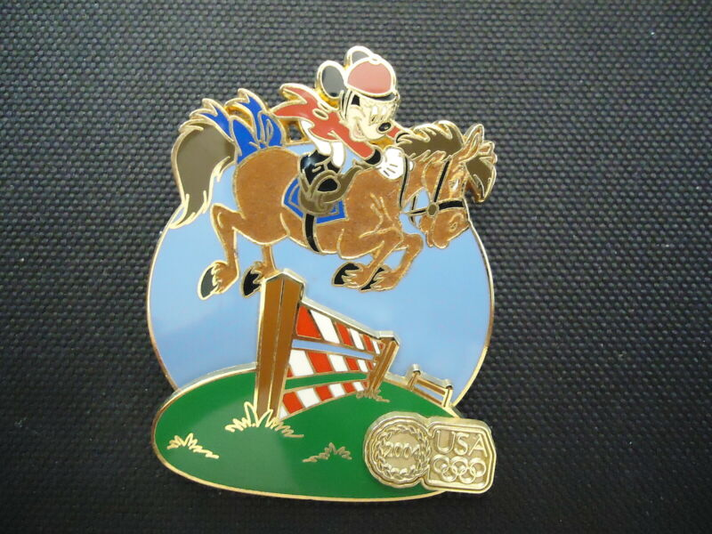 DISNEY WDW USA OLYMPIC LOGO EQUESTRIAN MINNIE MOUSE PIN LE 0139/2004