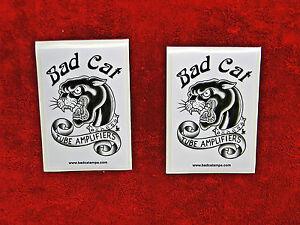Bad Cat Amplifiers 2 Sticker Set.....