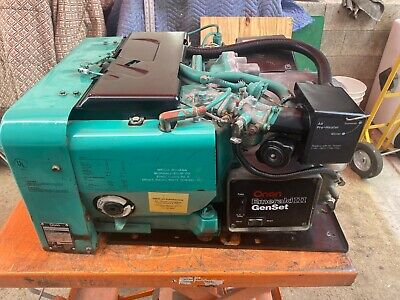 Onan Generator 6500 Watt Emerald Iii Plus Rv Motorhome Generator 6500 Watt