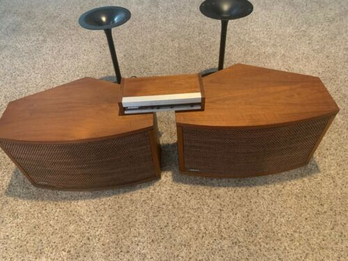 Bose 901 Series III Speakers + Tulip Stands + Equalizer