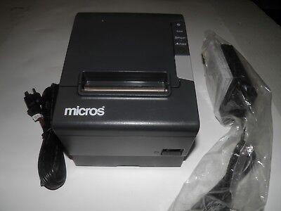 Micros Epson Tm-t88v Thermal Pos Receipt Printer Micros Ethernet M244a