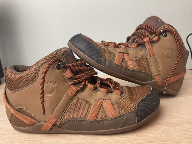XERO Shoes DayLite Hiker Sz 10 FITS 9.5 Women's Brown Hiking Boots Lace Up *READ