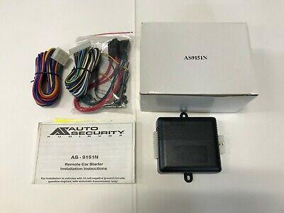 Prestige Audiovox AS-9151N, add-on remote car starter to any alarm system Audiovox Remote Car Starter