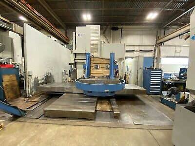 2001 5 Union Cnc Horizontal Boring Mill Model Tc 130