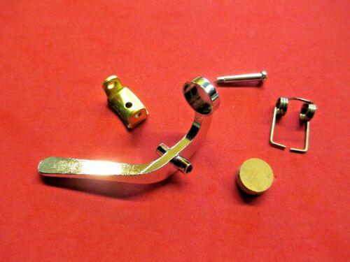 New Yamaha Trombone Water Key/Spit Valve Assembly Set with Holder Saddle!