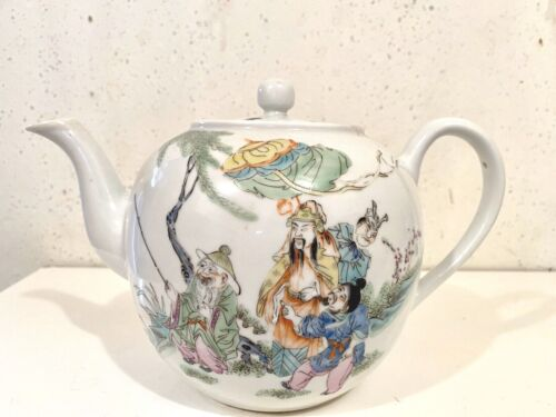 China republic period porcelain teapot