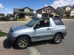 1999 Chevy Tracker in Cranbrook BC
